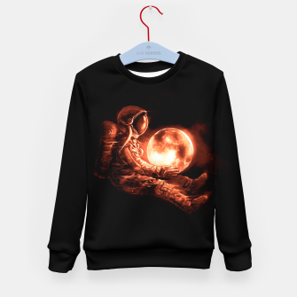 Thumbnail image of Moon Play Kid's sweater, Live Heroes