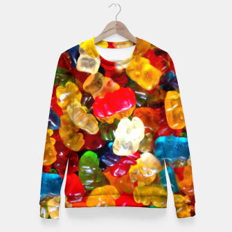 Thumbnail image of Sweets Woman cotton sweater, Live Heroes