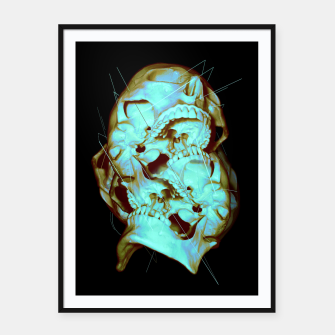 Thumbnail image of Dual Framed poster, Live Heroes
