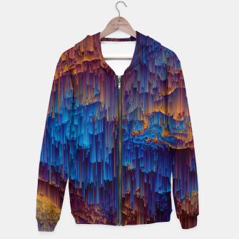 Thumbnail image of Shower of Gold - Pixel Art Cotton zip up hoodie, Live Heroes
