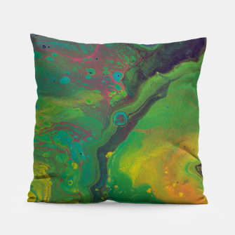 Thumbnail image of Unknown Planet - Abstract Pillow, Live Heroes