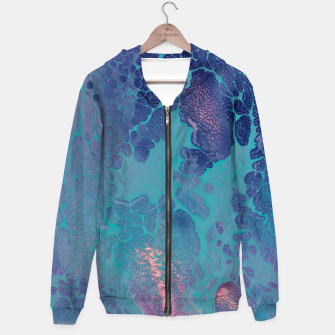 Thumbnail image of Forthcoming - Abstract Cotton zip up hoodie, Live Heroes
