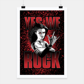 Thumbnail image of Girls ROCK Poster, Live Heroes