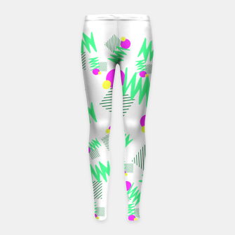 Miniature de image de Overloaded Girl's leggings, Live Heroes