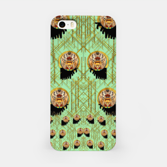 Miniatur Lady panda with hat and bat in the sunshine iPhone Case, Live Heroes