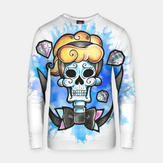 Thumbnail image of Cinderella Skull Cotton sweater, Live Heroes