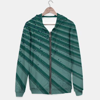 Thumbnail image of Waves Cotton zip up hoodie, Live Heroes