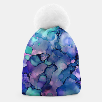 Imagen en miniatura de Abstract Alcohol Ink Painting 2 Beanie, Live Heroes