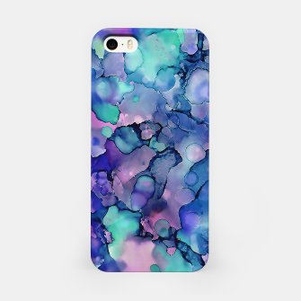 Imagen en miniatura de Abstract Alcohol Ink Painting 2 iPhone Case, Live Heroes