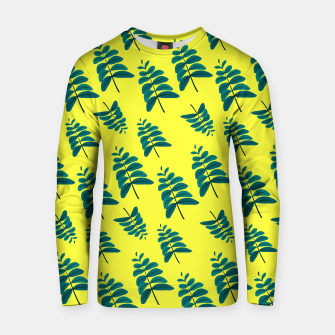Thumbnail image of Yellow Leaves Cotton sweater, Live Heroes