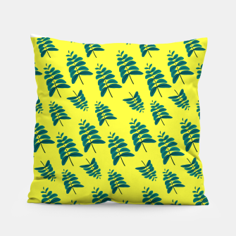 Thumbnail image of Yellow Leaves Pillow, Live Heroes