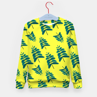 Thumbnail image of Yellow Leaves Kid's sweater, Live Heroes