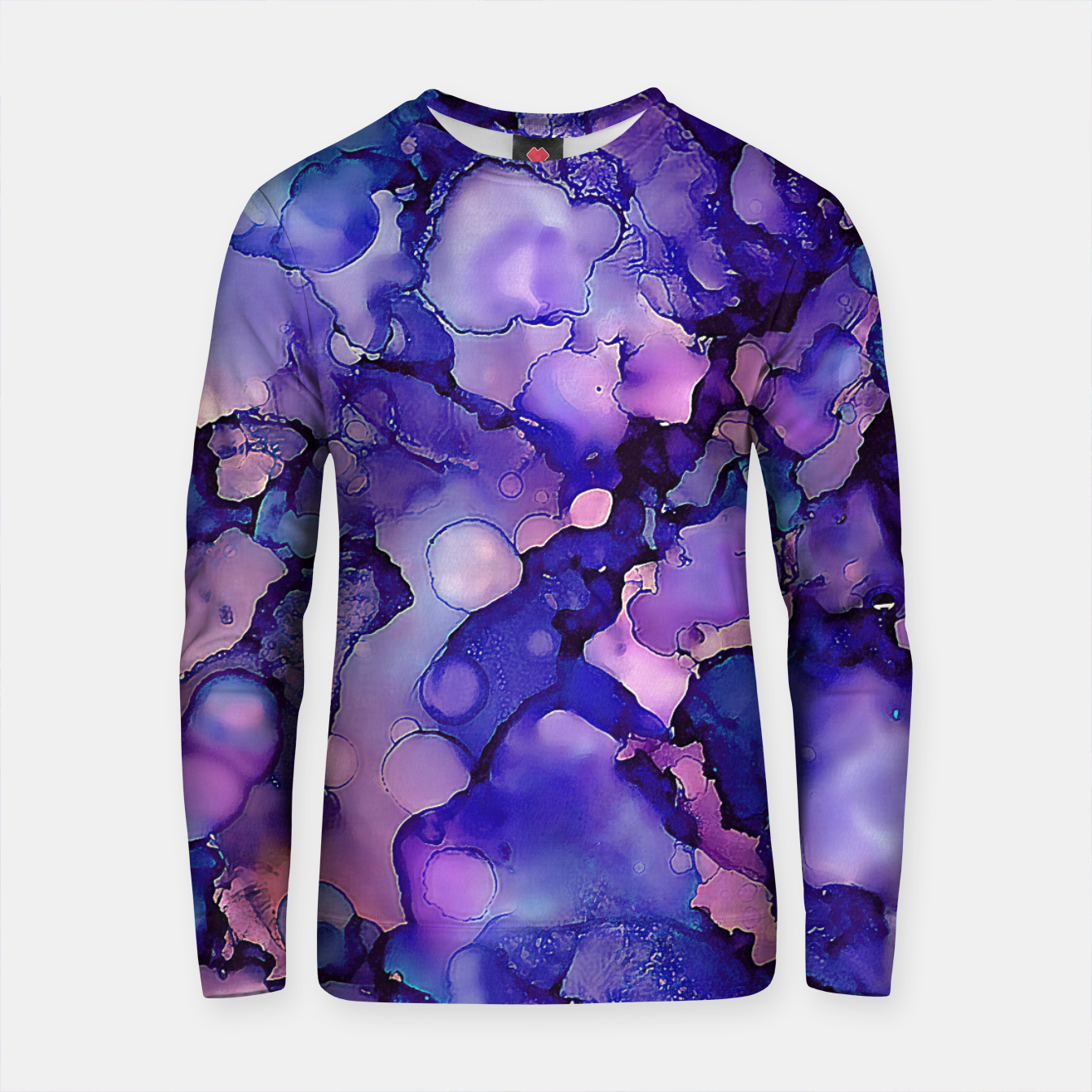 Imagen de Abstract Alcohol Ink Painting 3 Cotton sweater - Live Heroes