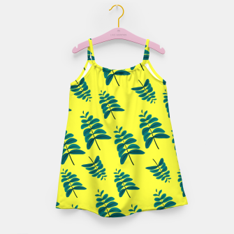 Thumbnail image of Yellow Leaves Girl's dress, Live Heroes