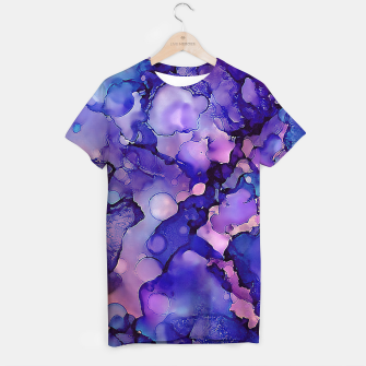 Imagen en miniatura de Abstract Alcohol Ink Painting 3 T-shirt, Live Heroes