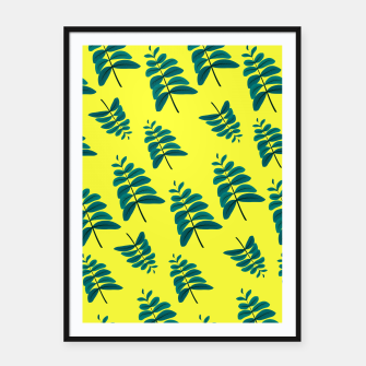 Thumbnail image of Yellow Leaves Framed poster, Live Heroes