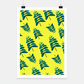 Thumbnail image of Yellow Leaves Poster, Live Heroes