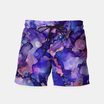 Abstract Alcohol Ink Painting 3 Swim Shorts imagen en miniatura