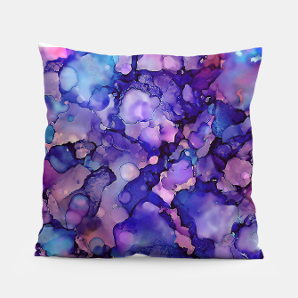 Abstract Alcohol Ink Painting 3 Pillow imagen en miniatura