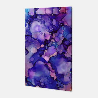Abstract Alcohol Ink Painting 3 Canvas imagen en miniatura