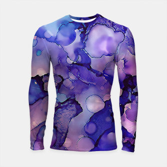 Abstract Alcohol Ink Painting 3 Longsleeve rashguard  imagen en miniatura