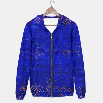 Miniaturka Blue Sea Traditional Moroccan Cotton zip up hoodie, Live Heroes
