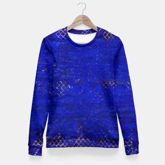 Miniaturka Blue Sea Traditional Moroccan Woman cotton sweater, Live Heroes