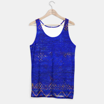 Miniaturka Blue Sea Traditional Moroccan Tank Top, Live Heroes