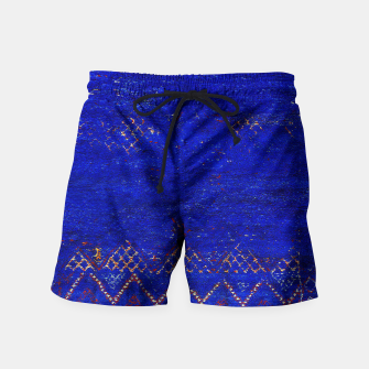 Miniaturka Blue Sea Traditional Moroccan Swim Shorts, Live Heroes