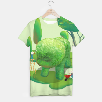 Thumbnail image of Topiary Garden T-shirt, Live Heroes