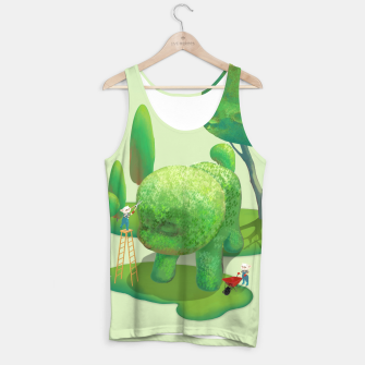 Thumbnail image of Topiary Garden Tank Top, Live Heroes