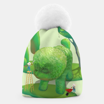 Thumbnail image of Topiary Garden Beanie, Live Heroes