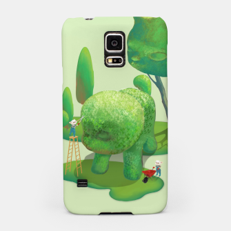 Thumbnail image of Topiary Garden Samsung Case, Live Heroes
