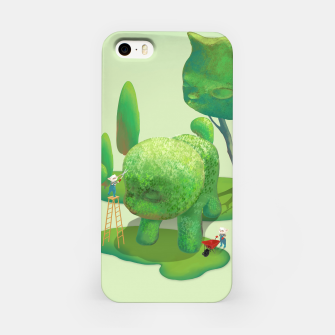 Thumbnail image of Topiary Garden iPhone Case, Live Heroes