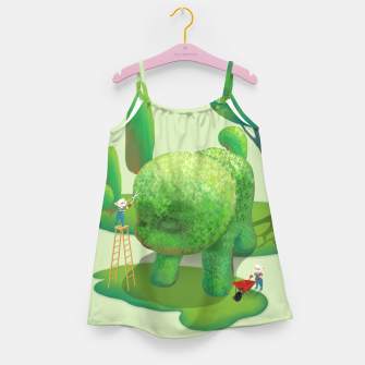 Thumbnail image of Topiary Garden Girl's dress, Live Heroes