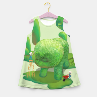 Thumbnail image of Topiary Garden Girl's summer dress, Live Heroes