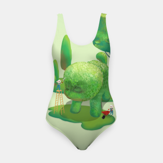 Thumbnail image of Topiary Garden Swimsuit, Live Heroes