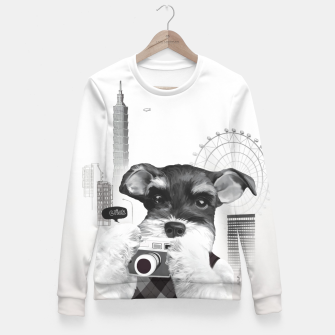 Thumbnail image of Taipei Day Trips Woman cotton sweater, Live Heroes