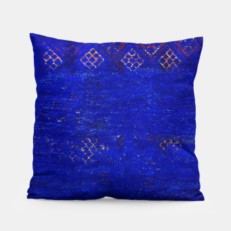 Miniaturka Blue Sea Traditional Moroccan Pillow, Live Heroes