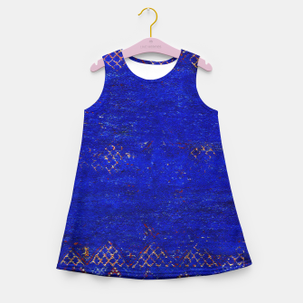Miniaturka Blue Sea Traditional Moroccan Girl's summer dress, Live Heroes