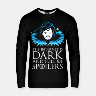 Miniature de image de Game of Thrones - The Internet is Dark and Full of Spoilers Bluza bawełniana, Live Heroes