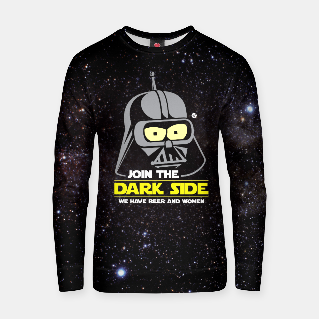 Image of Star Wars Futurama - Join the Dark Side Bluza bawełniana - Live Heroes
