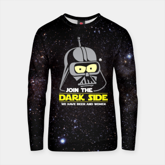 Star Wars Futurama - Join the Dark Side Bluza bawełniana obraz miniatury