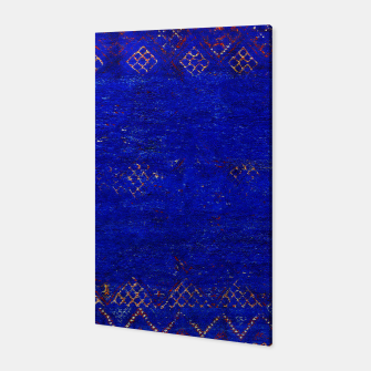 Miniaturka Blue Sea Traditional Moroccan Canvas, Live Heroes