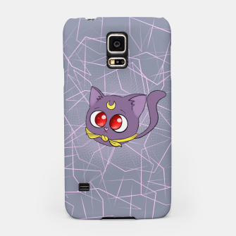 Miniatur Sailor Moon Fat Cat Luna Samsung Case, Live Heroes