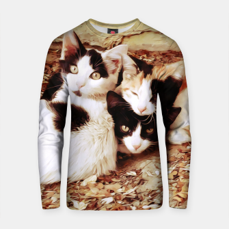 Miniature de image de Three Kitties Cotton sweater, Live Heroes