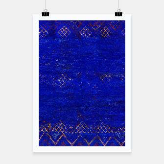 Miniaturka Blue Sea Traditional Moroccan Poster, Live Heroes