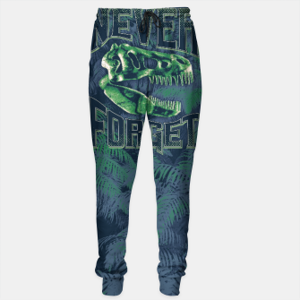 Thumbnail image of Never Forget T-Rex Cotton sweatpants, Live Heroes