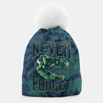 Thumbnail image of Never Forget T-Rex Beanie, Live Heroes