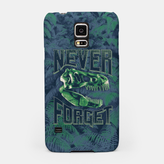 Thumbnail image of Never Forget T-Rex Samsung Case, Live Heroes